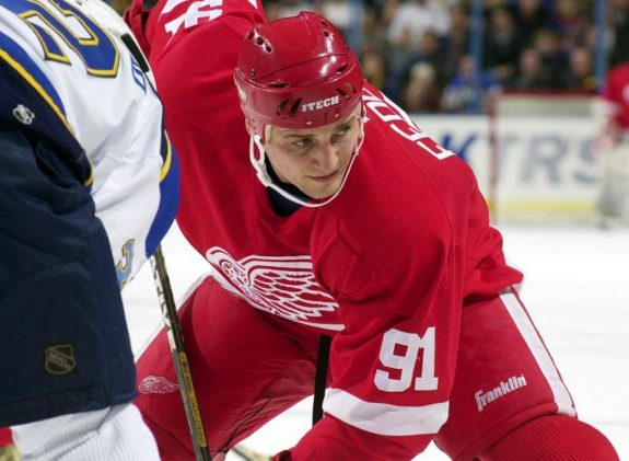 Sergei Fedorov Detroit Red Wings