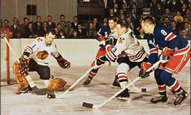 50 Years Ago in Hockey - Hawks Tie Habs for First
