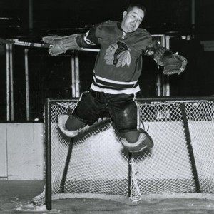 "Glenn Hall would jump at the chance to have ""relief goalies""."