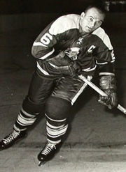 Cleveland Barons' captain Bill Needham.