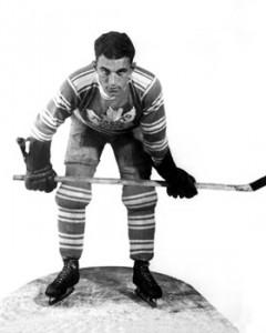 Joe Primeau - first Ranger signed by Conn Smythe.