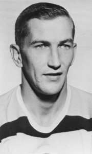 Boston rookie defenceman Bob Woytowich.