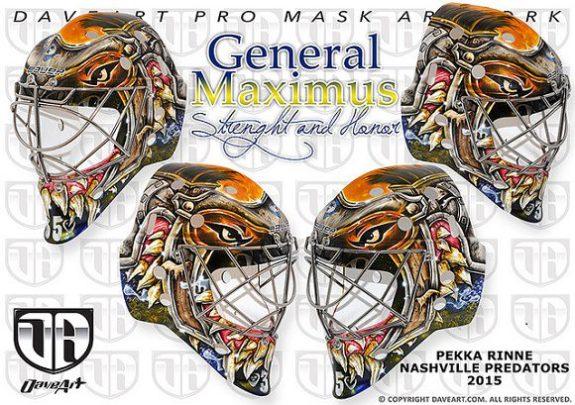 Pekka Rinne Nashville Predators Mask