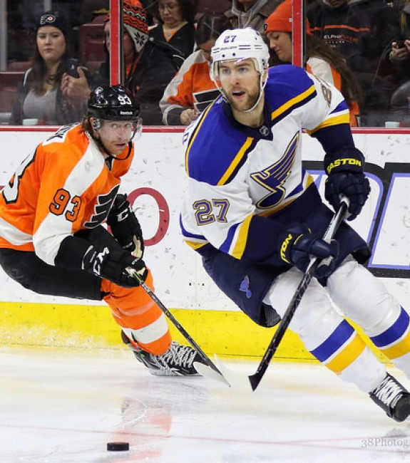 Pietrangelo ranks fourth among NHL average ice-time leaders with 26:42 per game (Amy Irvin / The Hockey Writers)