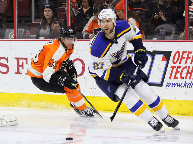 NHL Rumors: Alex Pietrangelo, Charlie Coyle, Wayne Simmonds, More