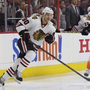 The Hawks paid a steep price to acquire Vermette (Amy Irvin / The Hockey Writers)