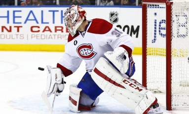 Carey Price to Have Limited Starts This Season
