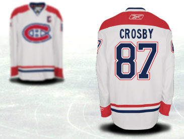 Crosby Canadiens