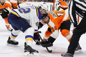 Under this plan, losing a challenge would carry the same penalty as an icing call, moving the ensuing faceoff inside the challenging team's defensive zone. (Amy Irvin / The Hockey Writers)