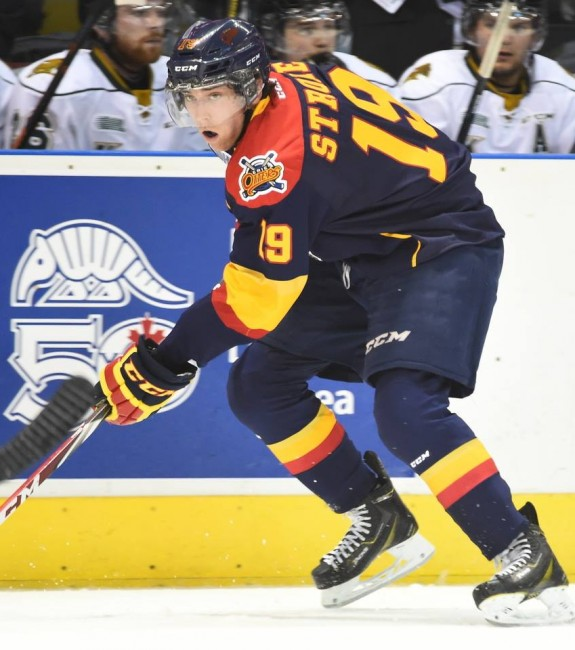 Dylan Strome, Erie Otters, NHL Draft