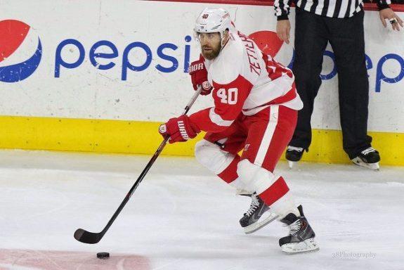 Henrik Zetterberg of the Detroit Red Wings.