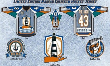 Nassau Coliseum Honored With New Jersey Design