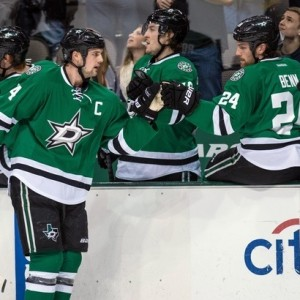 Jamie Benn and the Dallas Stars currently lead the NHL with 229 goals this season. (Jerome Miron-USA TODAY Sports)