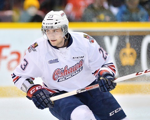 Tobias Lindberg, Oshawa Generals, OHL, Hockey