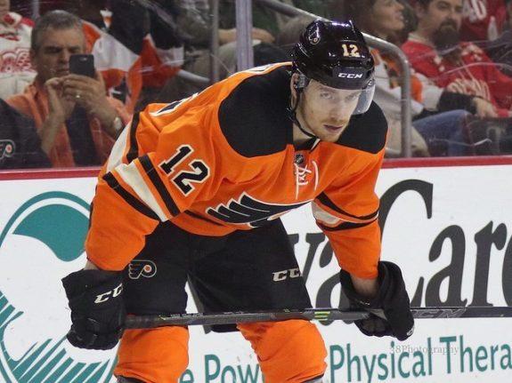 Michael Raffl Philadelphia Flyers