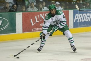 UND forward Nick Schmaltz (Peter Bottini, UND Athletics)