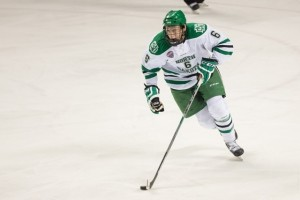 UND Defenseman Paul LaDue