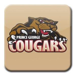 Prince George Cougars square logo