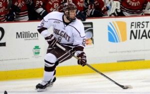(Colgate forward Tyson Spink- Colgate Athletic Communications)