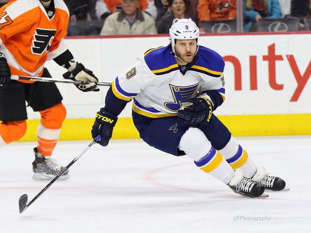 Steve Ott, St. Louis Blues, NHL