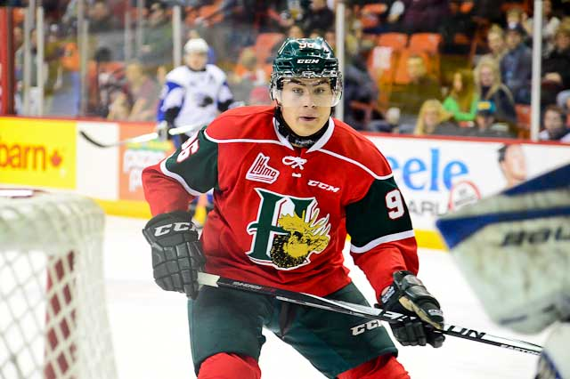 Timo Meier of the Halifax Mooseheads [photo: David Chan]