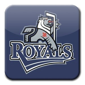 Victoria Royals blue square logo