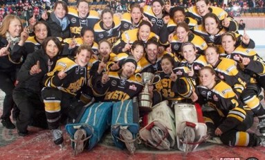 Elite of Women's Hockey Battle for Clarkson Cup