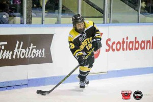 Brianna Decker, the CWHL Rookie of the Year, scored a natural hat-trick in her Clarkson Cup debut. (Brandon Taylor/CWHL)