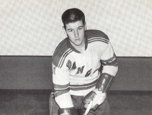 Rod Gilbert notched his 24th and 25th goals for Rangers.