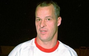 Gordie Howe was dominant early in the game.
