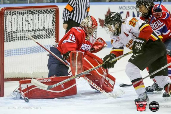 Goaltender Charline Labonté was absolutely spectacular in the Montreal Stars 2-0 series sweep over the Calgary Inferno.