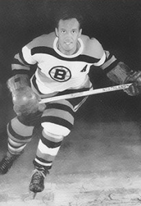 Hal Laycoe, during his playing days with the Bruins.
