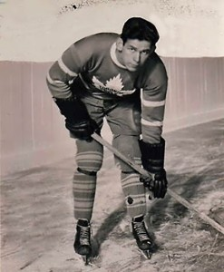 CCM skate salesman played for Leafs in the 1930s.