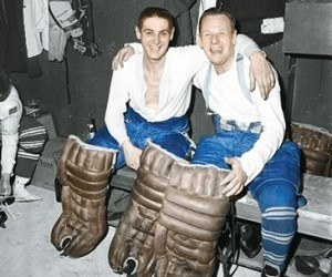 Terry Sawchuk and Johnny Bower gave Toronto the NHL's best goaltending.