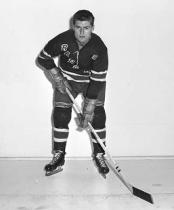 Bill was traded for Allan Stanley, then of the Rangers.