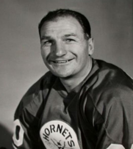 Pittsburgh Hornets player-coach Vic Stasiuk