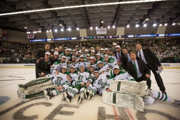 West Regional Champs (Peter Bottini, UND Athletics)