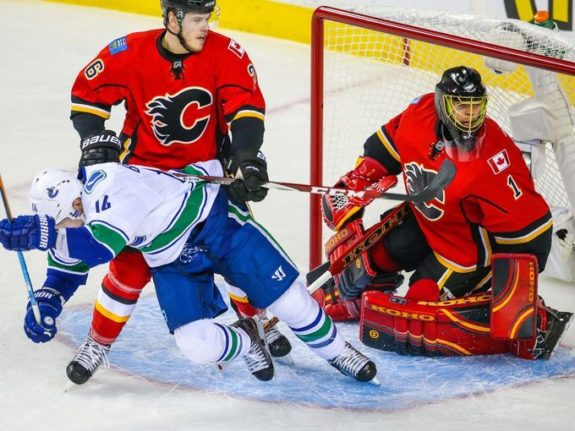 Calgary Flames, Vancouver Canucks, NHL Playoffs, Hockey