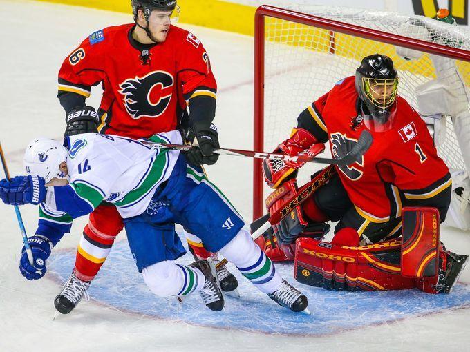 Calgary Flames, Vancouver Canucks, NHL Playoffs, Hockey