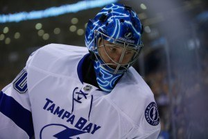 Tampa Bay Lightning goalie Ben Bishop