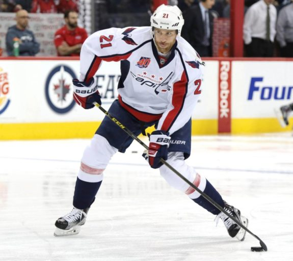 Brooks Laich, Washington Capitals, NHL, Milestones