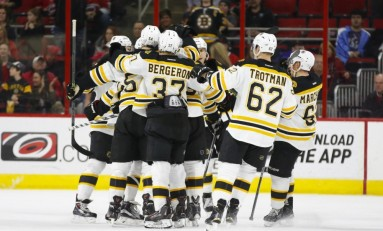 New Bruins Getting Confident in Lineup