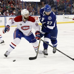 Greg Pateryn will battle Tinordi for a spot on the blueline. (Kim Klement-USA TODAY Sports)
