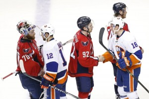 The Capitals dispatched the Islanders in the playoffs in 2015, and the Isles are mostly the same team a year later. (Geoff Burke-USA TODAY Sports)