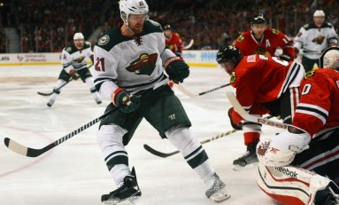 Recap: Wild Top Blackhawks for First in Central Division