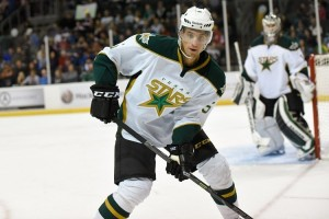 Fringe player Mattias Backman could make Dallas' NHL roster if teams could carry 25 active players. (Michael Connell/Texas Stars Hockey)