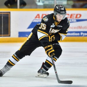 Nikita Korostelev of the Sarnia Sting [photo: OHL Images]
