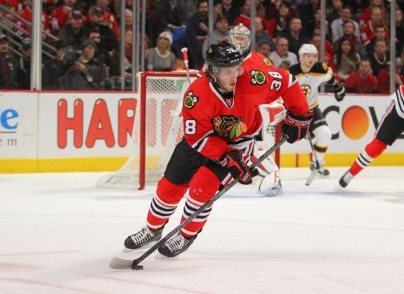 Ryan Hartman, Blackhawks