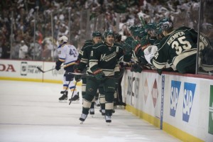 Zach Parise has been a leader for the Wild since day 1. (Marilyn Indahl-USA TODAY Sports)