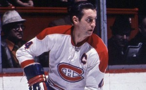 Jean Beliveau - Habs don't know how long he'll be out.